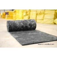 Quality Black Heat-Insulation Non-Formaldehyde Glass Wool for sale