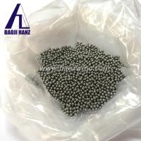 Quality high density reasonable price 18g/cc heavy tungsten alloy ball tungsten shot for hunting turkeys for sale