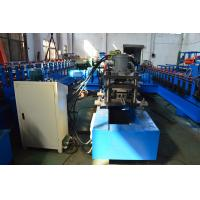 Quality Galvanized Steel Solar Strut Roll Former Machine PLC Touch Screen Control for sale