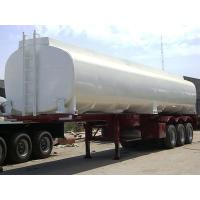 Quality 40000L-3 axles-Skeleton Monoblock Tanker Semi-Trailer,Concave Trailer for sale