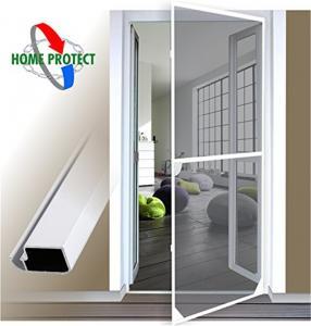 China Tear Proof Fly Screen Doors , Mosquito Screen Door Simple Installation on sale