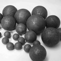 Buy cheap 20mm high quality hot rolled steel ball with high hardness and no breakage from wholesalers