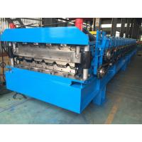 Quality Roofing Profile Double Layer Roll Forming Machine Automatically 380V 50Hz 3 Phases for sale