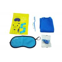 Buy cheap Original Airline Amenity Kits / Five Contents Pack In Fresco Bag Travel Set from Wholesalers