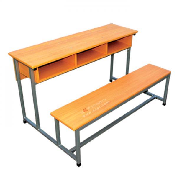 Cheap School Furniture D63 09 Double Person Student Desk