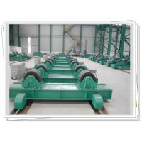 Quality Bolt Adjustable Tank Turning Rolls With Manual Bogie , VFD Control for sale