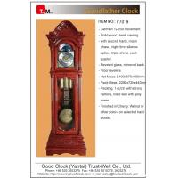 China China top quality luxurious grandfather/floor clock with German made 8-rod 12-rod cable driven or weight driven movement on sale