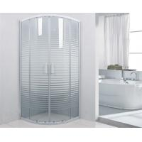 Buy cheap White Frame 800 x 800 Shower Enclosure , Corner Shower Units For Small Bathrooms from Wholesalers
