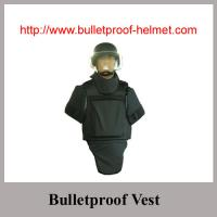 Black Ballistic Body Armour with groin shoulder neck protection Vest