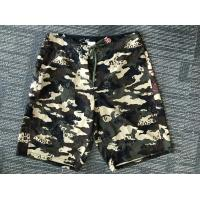 Quality Hot Sale Beach Wear 100% Polyester camo printed Board Shorts, High Quality Beach Shorts for sale