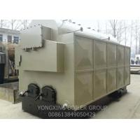China Fast Installed Wood Burning Steam Boiler / Hand Fired Wood Fired Steam Boiler 3 Tons on sale