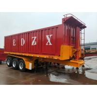Quality 3 axles Dump trailer Tipper Semi Trailer for sale
