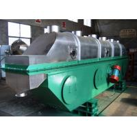 Quality ZLG Series Vibrating Fluid Bed Dryer FBD Continuous Type For Granules Drying for sale