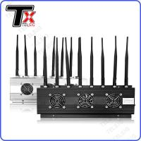 China Durable Cellular WIFI Signal Jammer For 8 Band RADIO / REMOTE / VHF / UHF on sale