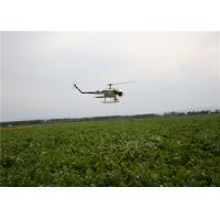 Quality Agriculture UAV Helicopters for Pesticide Spraying 24 Hectares a Day Light Aviation Material for sale