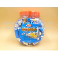 China Low Calorie Energy Roll Milk Candy Sugar Tablet Compressed Jar Packed on sale