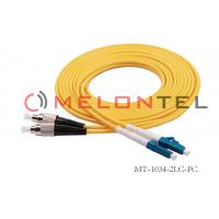 China DP SM 2LC-FC Fiber Patch Cord ABS Material Low Insertion Loss , RoHS Compliant on sale