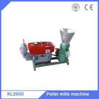 Supply 15HP diesel motor grain alfalfa pellets making machine