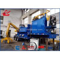 China Mobile Non Ferrous Metals Scrap Baler Logger With Tailer Remote Control on sale