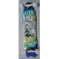 Quality 8 piy Canadian Maple Skateboard , Fish Board Skateboard Customized 37 * 9.5 inch for sale