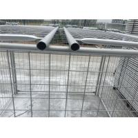Quality Environmental Q235 Steel Weld / Chain Wire Trash Cage 1500mm X 2000mm for sale