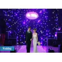 Buy cheap LED Curtain Lights 4X3M LED Stage Drape Starry Starlit Party Curtain Backdrop from wholesalers