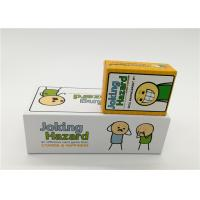 Quality Family Board Games Joking Hazard Card Game For Adult OEM / ODM Available for sale