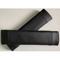 Quality 100% black cool seatbelt cover for car use, customized size and design for sale