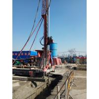 China Elevated Jet Grouting Drilling Rig with 20m Assistant Tower XPG - 65 on sale