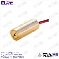 Quality High Reliability 520nm 30mW Green Laser Module China Supplier Elite Optoelectronics for sale