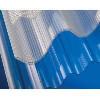 China Polycarbonate Corrugated Sheet / Plastic Roofing Panels / Transparent Roof Tiles on sale