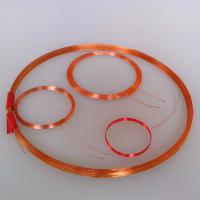 China custom  air core coil magnet copper coil winding coil circular inductive loops air wound coil round coil on sale