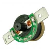 Quality T24-RF2-PB KSD301 Bimetal Thermostat(PPS case; Brass CAP; Max Ambient Temp 200℃, height 9.6mm) for sale