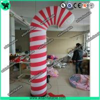 Quality 3m Christmas Decoration Inflatable Candy Pillar,Event Inflatable Candy for sale