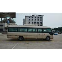 Mudan Golden City Tour Bus , Diesel Engine 25 Seater Minibus Semi - Integral Body