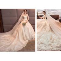 Buy cheap White Ivory Wedding Dresses Bridal Ball Gowns Off Shoulder Elegant Princess 2019 from wholesalers