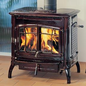 China Freestanding cast iron wood stove on sale