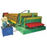 Quality 5.5KW High Speed Double Deck Roll Forming Machine With Automatic Hydraulic Cutting for sale