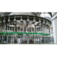 Quality Industrial 3 In 1 Automatic Liquid Bottle Filling Machine For PET Bottles 1000bph - 24000bph for sale