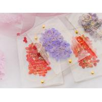 China acrylic invitation magnetic wedding and envelope card double layers flower for sale