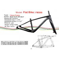 "Quality Fat Carbon Bike Frame of Internal Cable Routing in 15.5"" 17.5"" 19"" 20.5"" HT-FM366 for sale"