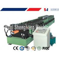 Quality Galvanized Sheet Gutter Roll Forming Machine For Roof Flashing Profile for sale