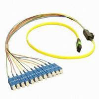 Buy Computer Network LC / SC Fiber Patch Cord In Female-Female , MPO Patch Cable at wholesale prices