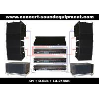 China 480W Full Range Line Array Speaker With 1.4+2x10 Neodymium Drivers For Concert And Installation on sale