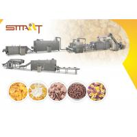 Quality EN AS Standard Corn Flakes Production Line SS Made 35m / 42m Length Optional for sale