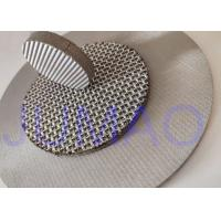 Quality Filter Rating Sintered Filter Mesh 1-100 Micron Heat Resistance And Steady for sale