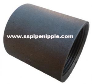 "Quality Black Carbon Steel Coupling BSP / DIN / NPT 1/8-8"" Outer Diameter for sale"