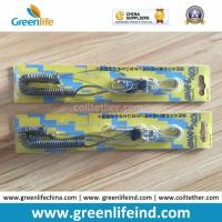 Gray Coil Wire : Customer retractable package gray spring wire coil lanyard