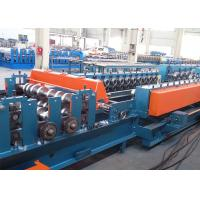Quality 8~12m/min Cable Tray Roll Forming Line With Human And Machine Screen for sale