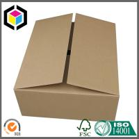 Quality Plain Brown No Printing Double Wall Corrugated Box; Single Wall Packaging Box for sale